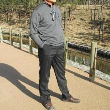 겨울용 기모 아우토반 스판바지(방한바지)