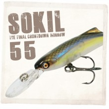 (다미끼)SOKIL 55SP 쏘킬 서스팬드(쏘가리/배스)