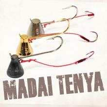 (다미끼)MADAI TENYA(마다이 텐야 훅)은색