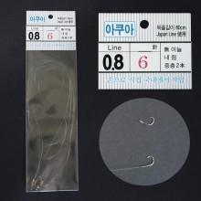 (아쿠아)내림 2본묶음바늘(5개入)