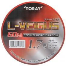 (토레이)L-VEIGUS(엘베가스)60m (100%플로로카본)