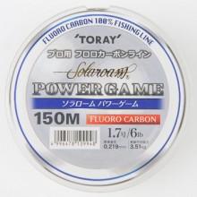 (토레이)파워게임 후로로카본라인 150M/낚시줄/루어/배스