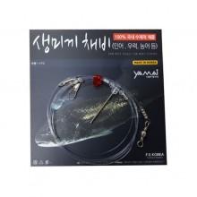 (야마이)생미끼채비(4개入)