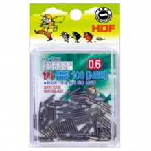 (해동)HA-1292 파워슬립형 1자클립 100 NSB /채비소품/바다소품