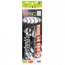 (해동)HA-1312 석조강공 수제 외바늘채비/돌돔묶음바늘