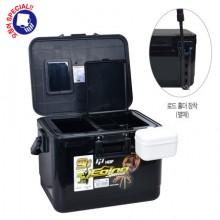 (해동)HB-1127 에깅스페셜 아이스박스9L(블랙) /9리터/쿨러/낚시/캠핑/레져