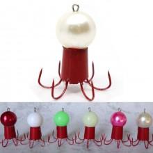 쭈꾸미볼 에자(6개입) (빨강/화이트/핑크) 주꾸미 갑오징어 애자