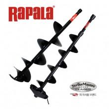 (라팔라)모라아이스 스트라이크 마스터 핸드드릴 LD-7(곡날칼날) 얼음구멍지름 175mm/아이스드릴