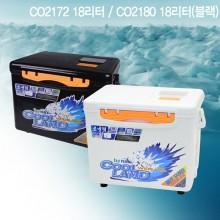 (바낙스)쿨러 2172 18리터(블랙색상)/아이스박스 쭈꾸미 갑오징어