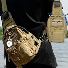 (디퍼)tactical bag 택티컬백 크로스백 루어가방
