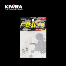 (키우라)K-743 한치채비/이카메탈채비