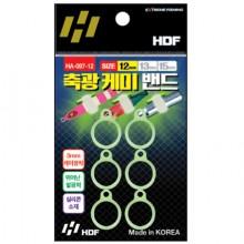(해동)HA-097 축광케미밴드/3mm케미장착가능/ 축광밴드 쭈꾸미 갑오징어