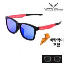 (브이쿨)편광선글라스 vk-2008 (바람막이/도수클립포함)