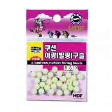 (해동)HA-660쿠션 야광(발광)구슬(연질 실리콘 발광)