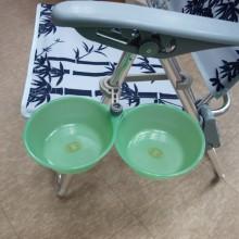 (세종)떡밥그릇+거치대(의자용)