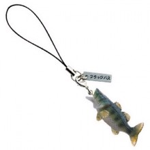 리얼피쉬 피규어(핸드폰고리)/ 물고기 어류 무늬오징어 붕어